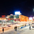 lenina street in the center of yekaterinburg — Stock Photo