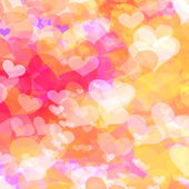 Valentine's day background with hearts — Stockfoto