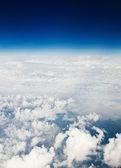 Airplane view — Stock Photo