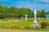 Statues in the Park of Kuskovo — Stockfoto