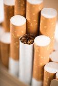 Tabacco nelle sigarette — Foto Stock