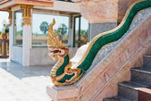 Dragons at Chalong Temple in Phuket Thailand  — Стоковое фото