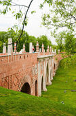 The big bridge in Tsaritsyno, Moscow, Russia  — Stock Photo