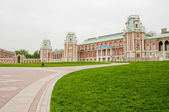 Palace in Tsaritsyno in Moscow — Stock Photo