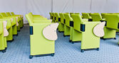Rows of chairs in conference hall  — Stockfoto