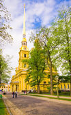The Peter and Paul Cathedral — Foto de Stock