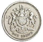 One british pound coin  — Stock Photo