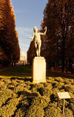 "Statue ""L'acteur grec"" in Jardin du Luxembourg in Paris.  — Stock Photo"