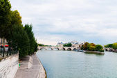 View of island Isle de la Cite. Paris, France.  — Stock Photo
