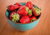 Strawberries in a Bowl  — Stock Photo