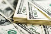 Stu dolarowe — Zdjęcie stockowe