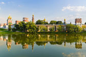 Novodevichy convent — Stock Photo