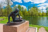 Statue    in Tsarskoe Selo — Stock Photo