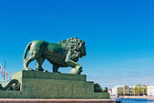 Saint-Petersburg,  lion — Stock Photo