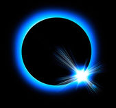 Solar eclipse — Stock Photo