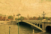 Pont Alexandre III - Bridge in Paris — Stock Photo