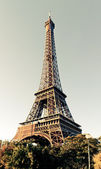 Eiffel Tower in Paris, France. — Stock Photo
