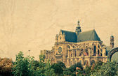 Saint Eustache church in Paris.  — Stock Photo