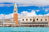 Piazza San Marco or st Mark square — Stock Photo