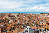 Palaces from San Marco tower,Venice — Stock Photo