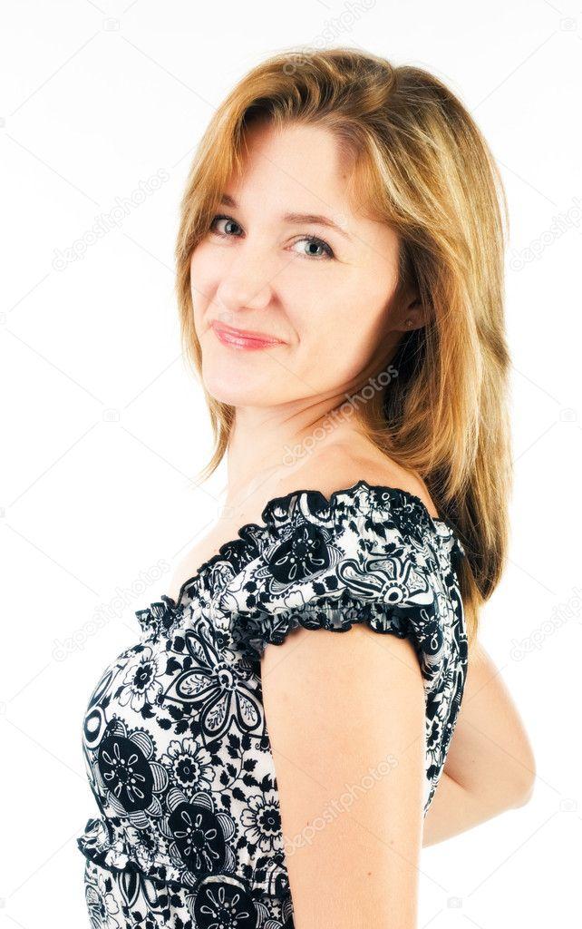 女人穿裙子