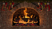 Yule Log — Photo