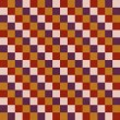 Retro seamless pattern. — Stock Photo
