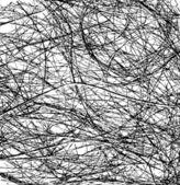 Chaos von threads. — Stockvektor