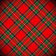Tartan vector background — Stock Vector