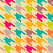 Houndstooth pattern — Vector de stock