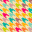 Houndstooth patroon — Stockvector