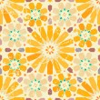 Stock Vector: Vintage arabic seamless pattern