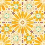 Vintage Arabische naadloze patroon — Stockvector