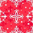Christmas snowflakes seamless pattern — Stock Vector #40405619