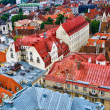 Roofs of Tallinn Old Town — Stock Photo