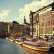 Amsterdam canals — Stock Photo #21827323
