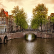 Amsterdam canals — Stock Photo #21827439