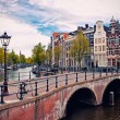 Amsterdam canals — Stock Photo #21827551