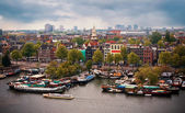 Cityscape of Amsterdam. Netherlands — Stock Photo