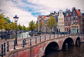 Canaux d'amsterdam — Photo
