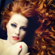 Redhead sensuality — Stock Photo #24723443