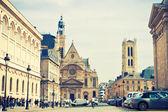 Church Saint Etienne du Mont — Stock Photo