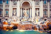 Fontain Trevi, Rome, Italy — Stock Photo