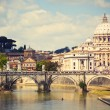 Saint Peter cathedral, Rome, Italy — Stock Photo #25581289