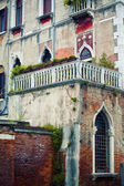 Venetian house — Stock Photo