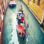 gondel in Venetië — Stockfoto #27024583