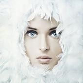 Kuğu kız — Stok fotoğraf