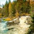 Stock Photo: Waterfall in Karelia