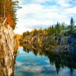 Mountain park Ruskeala — Stock Photo #32083039