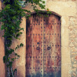 Stock Photo: Medieval door